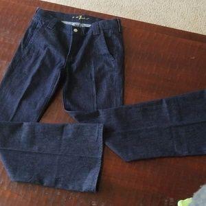 7FAMK Dressy Trouser Cut jeans